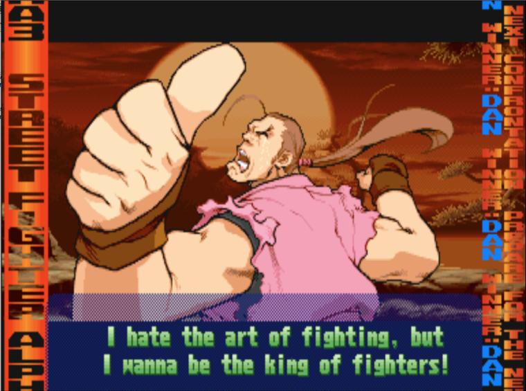 The Untouchable Versus The Holy Book Of Fighting Games